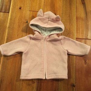 Baby girl car hoodie